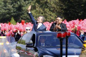Pchenjane baigėsi pirmasis Korėjų viršūnių susitikimo etapas
