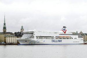 Audra nesmarkiai apgadino iš Stokholmo į Rygą plaukiantį keltą