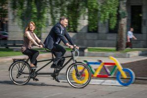 Kauno policija rengia neeilinį reidą: matuos dviračių greitį