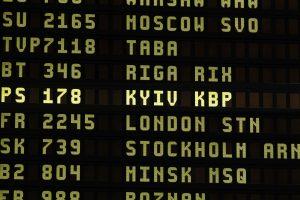 Lietuvos oro uostuose – nauja Ukrainos miestų pavadinimų rašyba