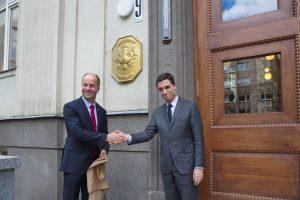 LSMU atidarytas Prancūzijos garbės konsulatas
