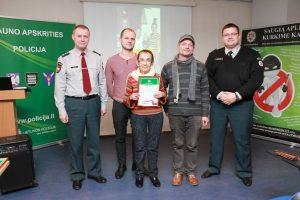 Kauno apskrityje išrinkta aktyviausia saugios kaimynystės grupė