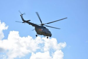 Karinis sraigtasparnis į Vilnių atskraidino donoro kepenis iš Latvijos