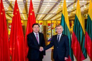 V. Pranckietis: teikiame prioritetą bendradarbiavimui su Kinija transporto srityje