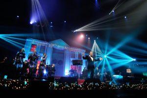 Manto Kalėdų šou – sniegas, įspūdinga scena ir gražiausia švenčių nuotaika