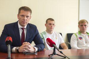 Lietuvos boksininkams keliamas tikslas iškovoti du olimpinius kelialapius