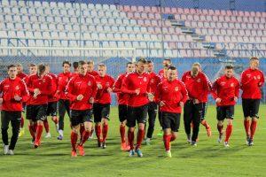 Lietuvos futbolo rinktinė naują atrankos ciklą pradės maču Vilniuje