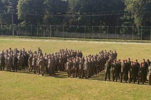 Krašto apsaugos savanorių pajėgų instruktoriai baigė rengti du Ukrainos karių būrius