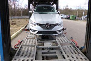 Kalvarijos pasieniečiai sulaikė, įtariama, Belgijoje vogtą automobilį