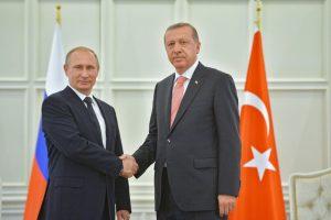 Po karių žūties V. Putinas ir R. T. Erdoganas sutarė stiprinti koordinavimą Sirijoje