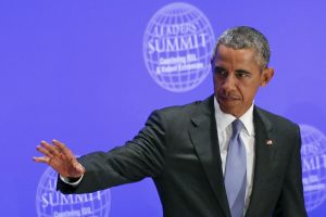 B. Obama vetavo 612 mlrd. vertės gynybos finansavimo planą