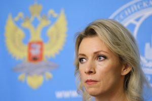"""Rusijos URM: pratybas """"Zapad 2017"""" lydinti """"isterija"""" yra dirbtinio pobūdžio"""
