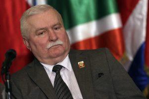 Lenkijos laisvės kovotojas L. Walesa nedalyvaus susitikime su popiežiumi Pranciškumi