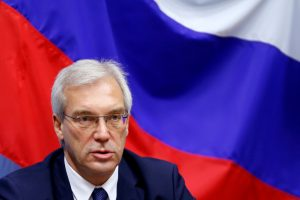 Viceministras: Rusijos diplomatų išsiuntimas yra smūgis Maskvos ir Vakarų ryšiams