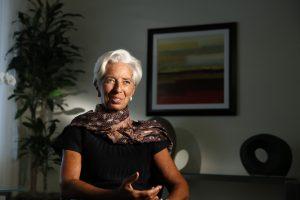 """TVF vadovė ragina G20 vengti """"lėto augimo spąstų"""""""