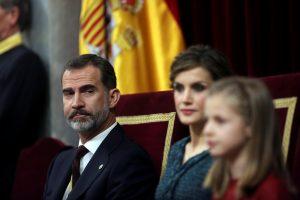 Ispanijos karalius ragina parlamentą įveikti korupciją