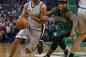 """""""Spurs"""" pergalių rodiklis išvykose – devynios iš devynių"""