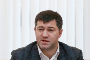Teismas nagrinėja Ukrainos fiskalinės tarnybos vadovo įtariamos korupcijos bylą