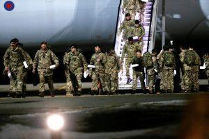 Į NATO batalioną Estijoje atvyko pirmieji britų kariai