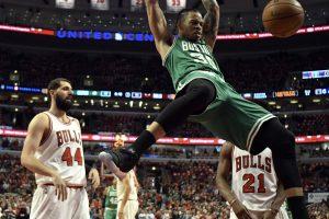 """NBA: """"Celtics"""" ir """"Wizards"""" įlėkė į Rytų konferencijos pusfinalį"""
