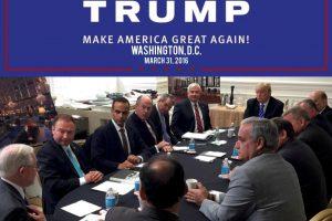 D. Trumpo kampanijos patarėjas prisipažino melavęs apie ryšius su Rusija