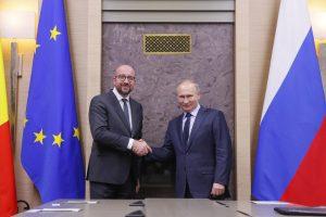 V. Putinas: Rusijos ir Belgijos santykiai – labai geri, šilti ir gilūs
