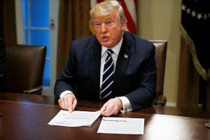 D. Trumpas: laukiu antro susitikimo su V. Putinu
