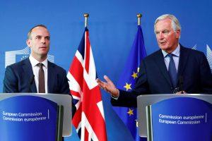 """M. Barnier: prasideda paskutinis """"Brexit"""" derybų etapas"""