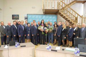 Pasaulio irklavimo čempionei – aukščiausias Kauno rajono apdovanojimas