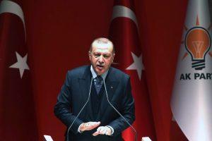 Turkijos prezidentas pradeda naują turą po Afrikos šalis