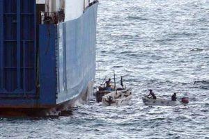 Prie Nigerijos piratai pagrobė laivo kapitoną rusą ir du įgulos narius