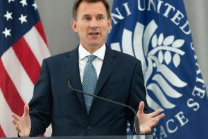 Londonas: nesutarimai dėl Irano neturėtų trukdyti Britanijos ir JAV bendradarbiavimui