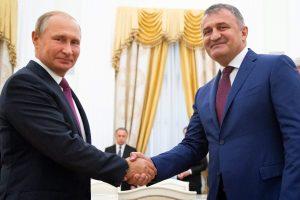 V. Putinas žada toliau palaikyti Gruzijos separatistinius regionus