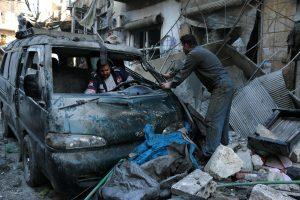 Sirijos Alepo provincijoje susprogdinus automobilį žuvo 23 žmonės