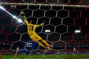 """Čempionų lyga: Madrido """"Atletico"""" palaužė """"Bayern"""" futbolininkus"""
