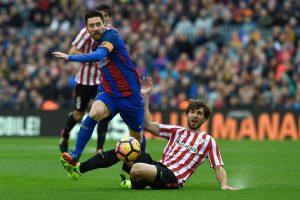 """""""Barcelona"""" pergalė pažymėta fantastišku L. Messi baudos smūgiu"""