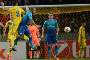 """Europos lyga: Londono """"Arsenal"""" išsivežė pergalę iš Lietuvos kaimynų"""