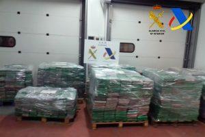 Ispanijos pareigūnai konfiskavo vieną didžiausių Europoje kokaino siuntų