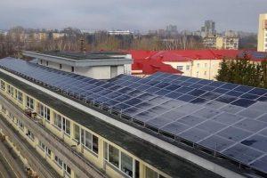 Vilniaus ir Kauno klinikose – galingos saulės jėgainės