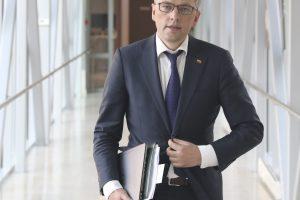 V. Bakas: dabartiniame Seime yra pažeidžiamų parlamentarų