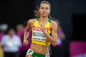 E. Balčiūnaitė bėgs pasaulio čempionato pusfinalyje