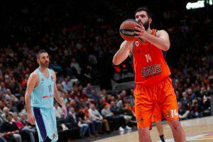 """Ispanijos klubų dvikovą Eurolygoje laimėjo """"Valencia Basket"""""""