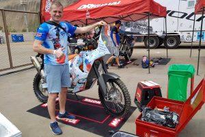 B. Bardauskas pirmuose Dakaro ralio etapuose laikysis saugesnės taktikos