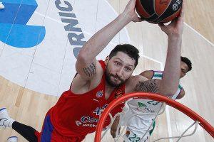 CSKA klubas Eurolygoje nepaliko vilčių Malagos ekipai