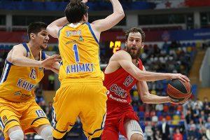 CSKA po dramatiškos kovos išplėšė kelialapį į Eurolygos finalo ketverto turnyrą