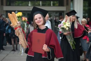 Vytauto Didžiojo universitete – diplomų įteikimo šventė