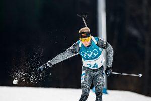 Biatlonininkas T. Kaukėnas prestižinėje olimpinių žaidynių rungtyje – 30-as
