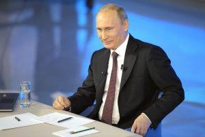 V. Putinas pasirašė įstatymą, draudžiantį neigti nacių nusikaltimus