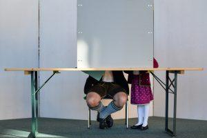 A. Merkel sąjungininkai per Bavarijos rinkimus patyrė skaudų pralaimėjimą