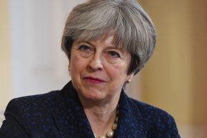 T. May: Didžioji Britanija iš ES pasitrauks sklandžiai ir tvarkingai